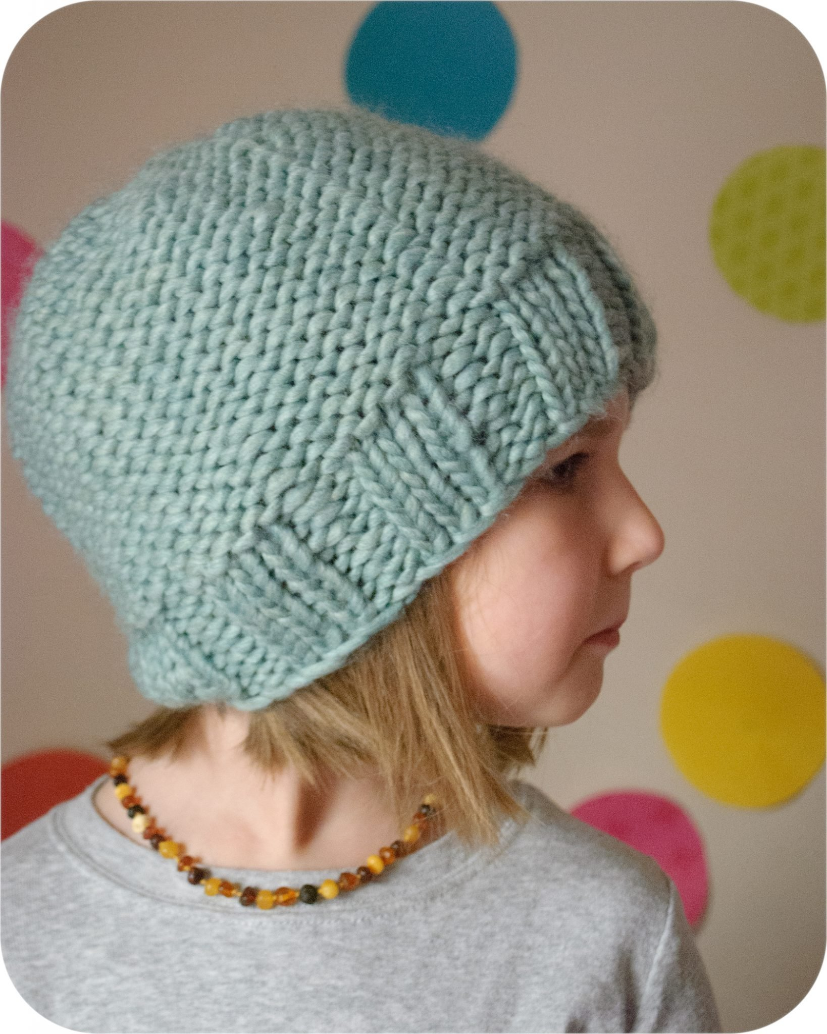 The French Twist Hat Pdf Knitting Pattern The Eli Monster