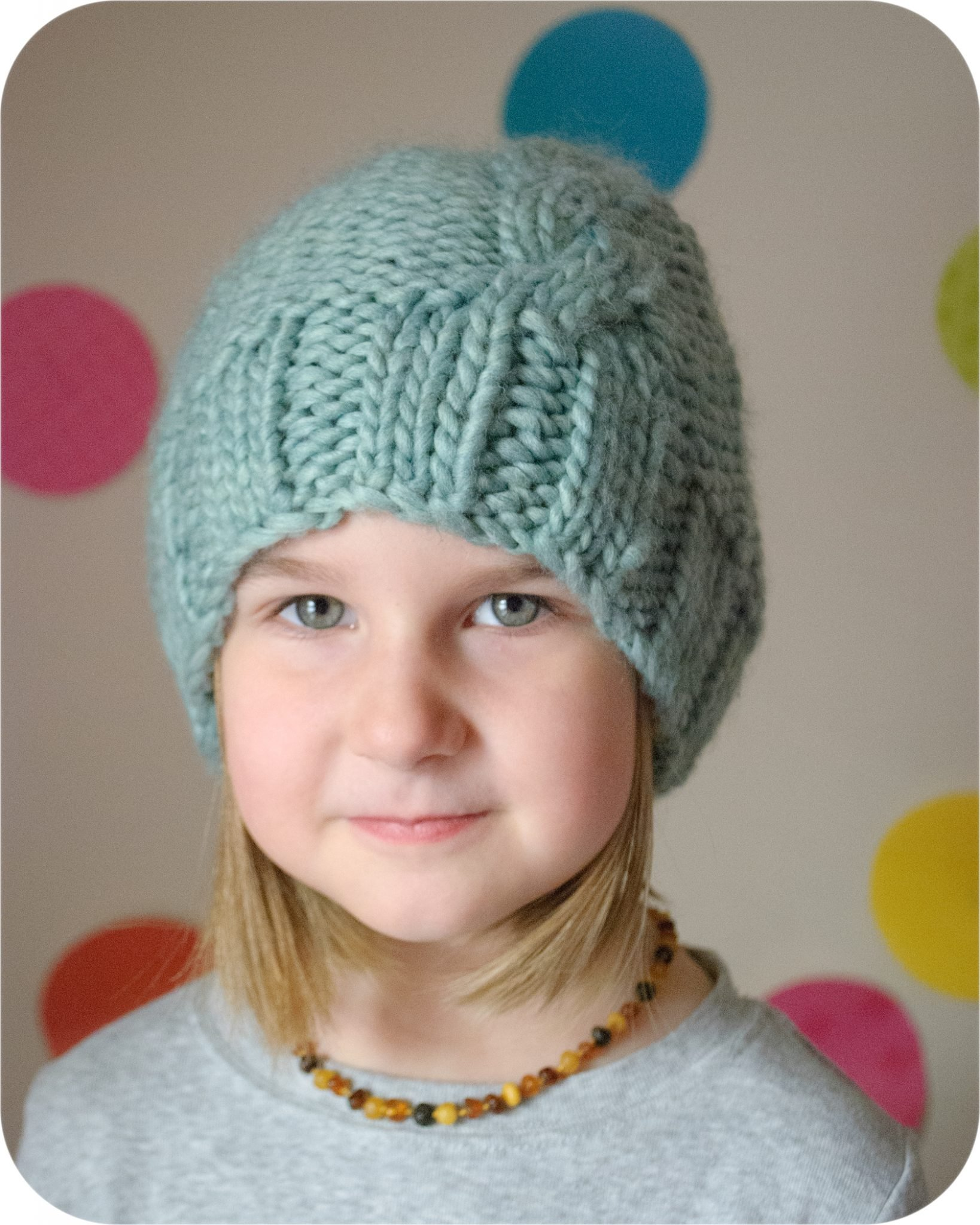 The French Twist Hat PDF Knitting Pattern | The Eli Monster