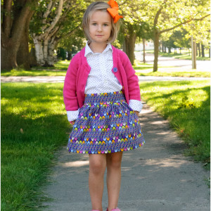 Beginner Skirt Sewing Pattern