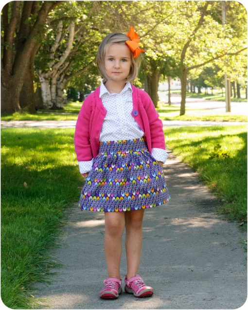 Beginner Skirt Sewing Pattern