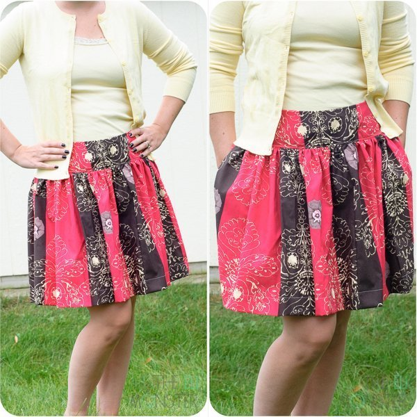 The Zak Skirt Sewing Pattern