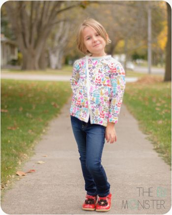 The Bries Cardigan PDF Sewing Pattern