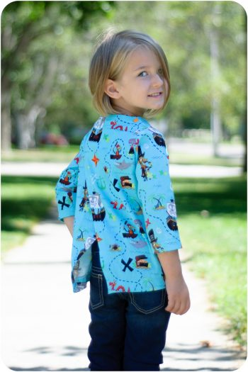 The Reislust Top PDF Sewing Pattern