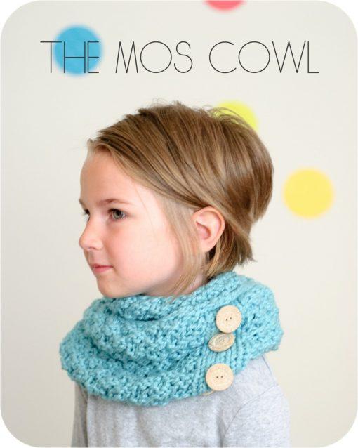 The Mos Cowl PDF Knitting Pattern