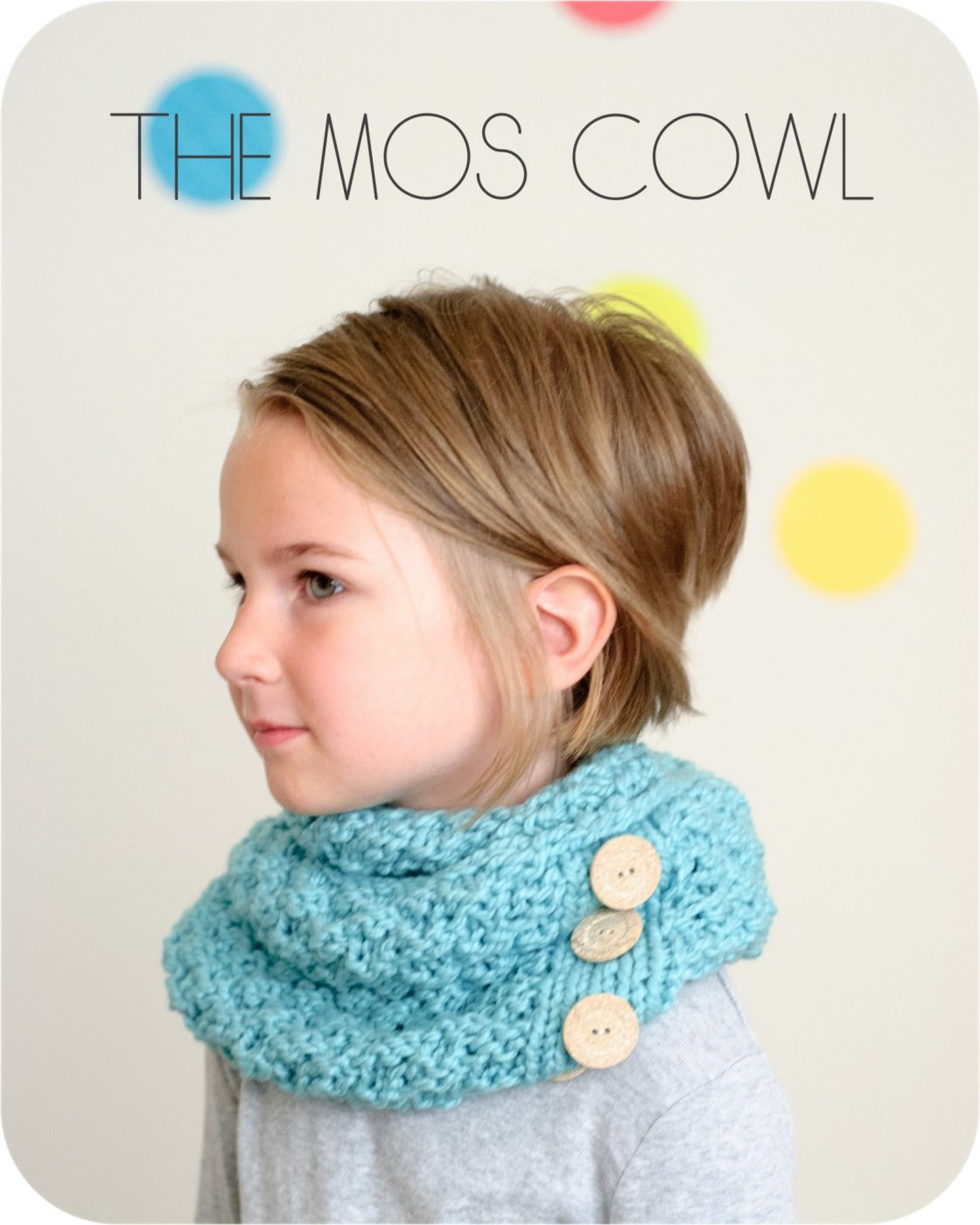 The Mos Cowl PDF Knitting Pattern