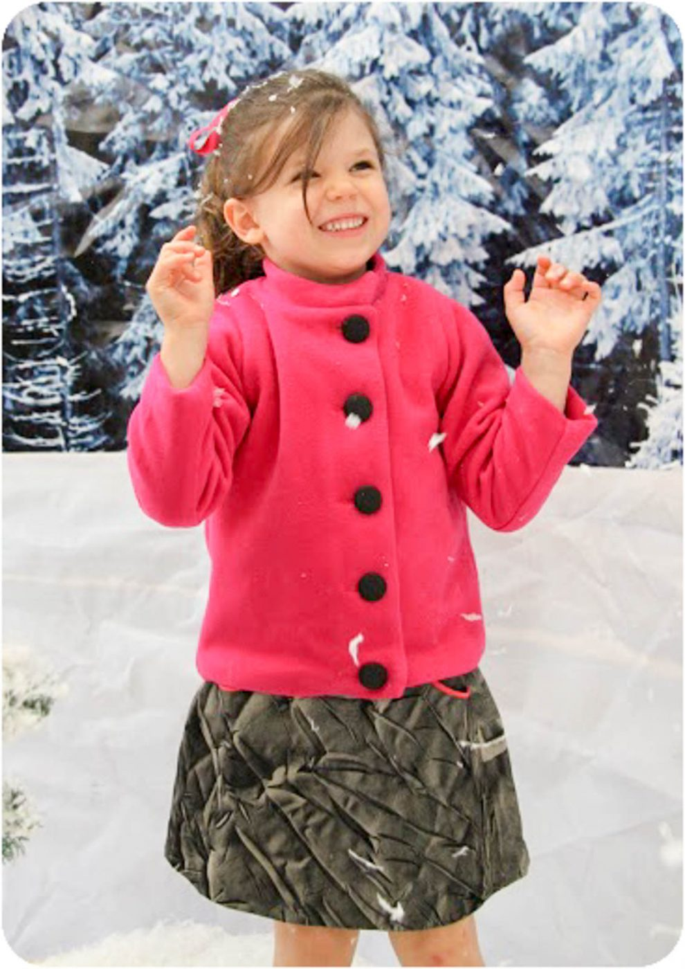 The Konijntje Jacket PDF Sewing Pattern