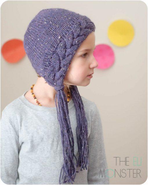 The Flette Bonnet PDF Knitting Pattern