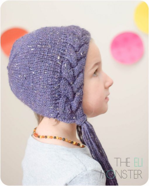 The Flette Bonnet PDF Knitting Pattern