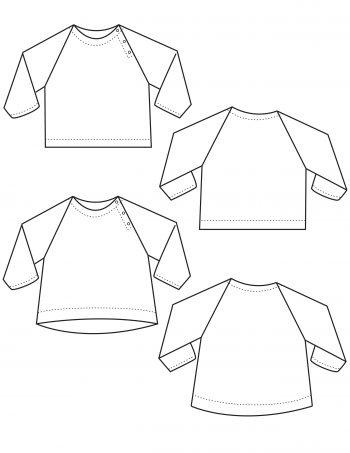 The Sötnos Top PDF Sewing Pattern