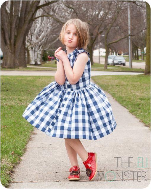 The Picknick Dress Sewing Pattern