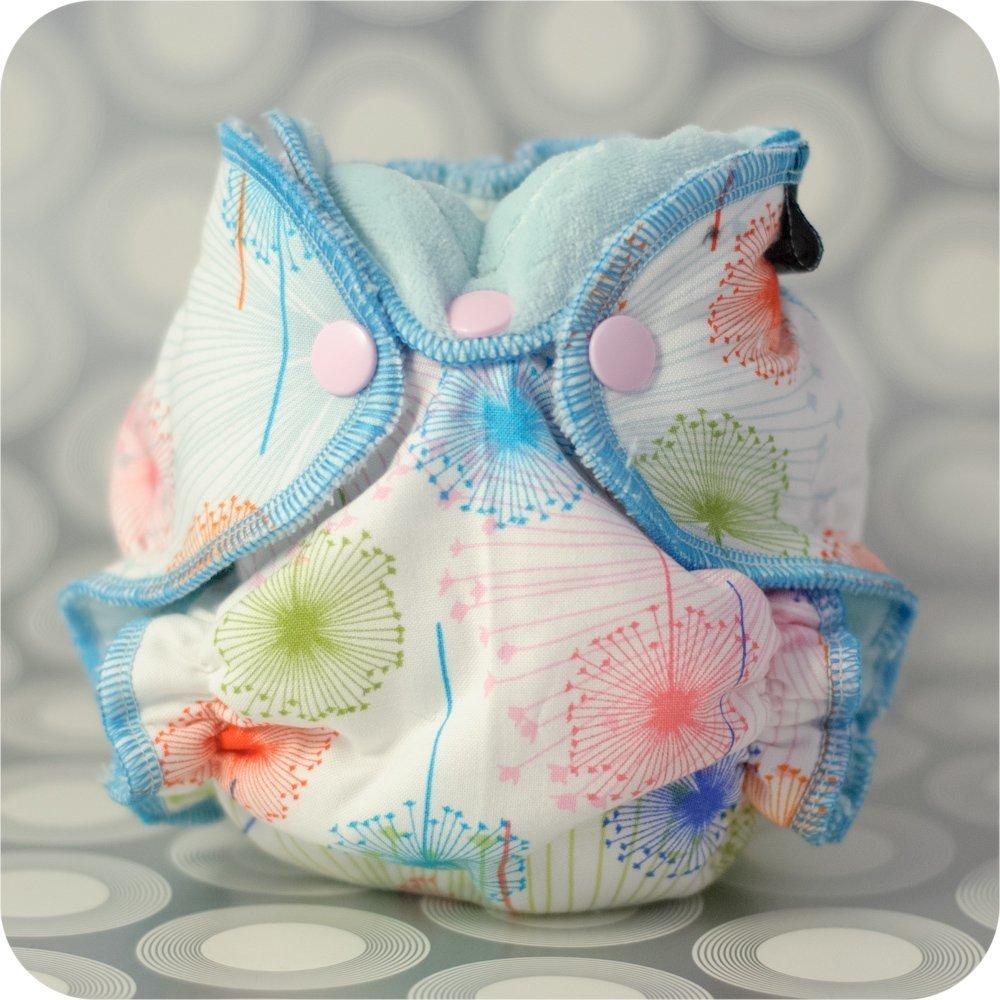 Newborn Fitted Cloth Diaper Sewing Pattern