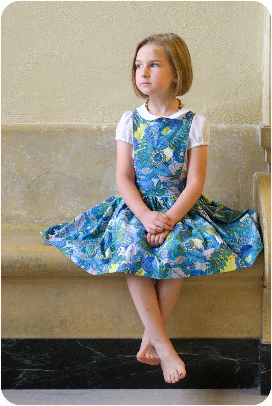 Kinderschurze Dress Sewing Pattern