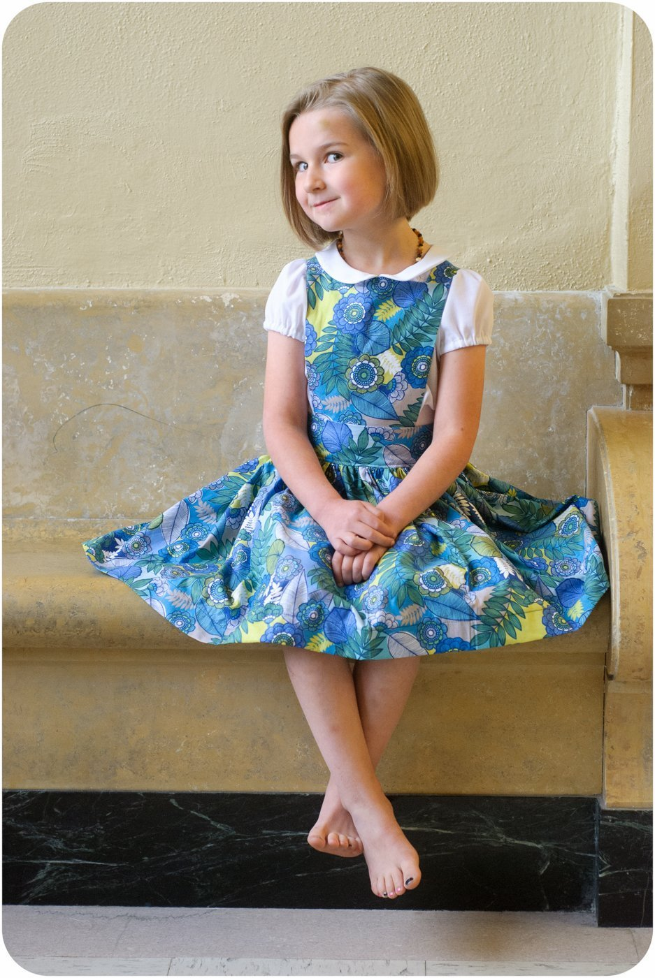The kinderschrze pinafore dress sewing pattern the kinderschrze dress sewing pattern jeuxipadfo Choice Image
