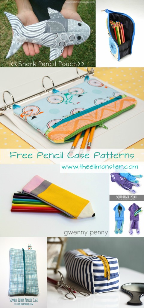 Free Pencil Case Sewing Patterns