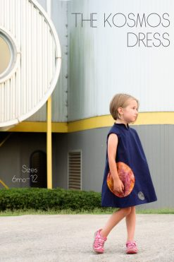 space dress sewing pattern