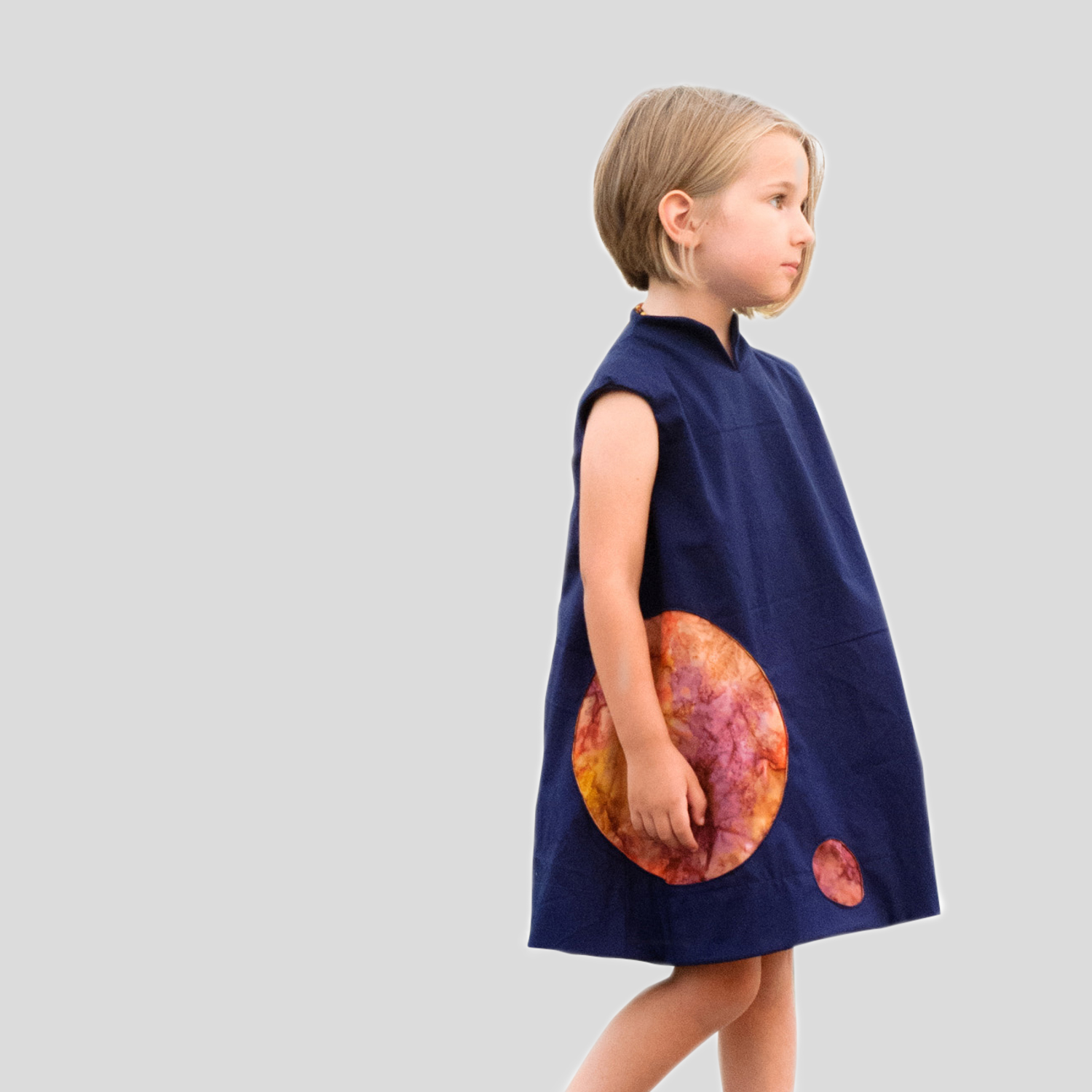 The kosmos space dress sewing pattern for girls for Space pattern clothing