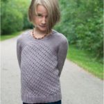 Girl wearing The Astrid Sweater