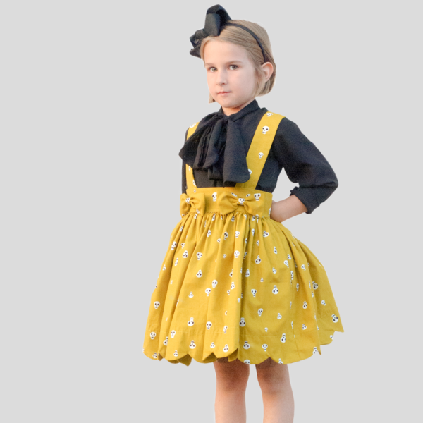 suspender skirt sewing pattern