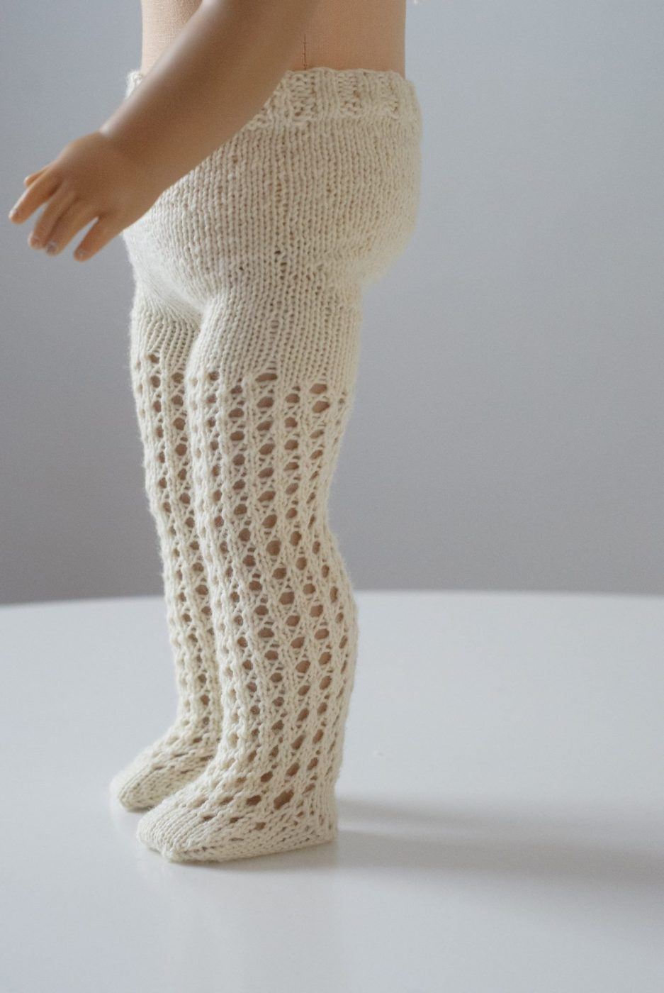 Tights Knitting Pattern : The Doll Tights Knitting Pattern for 18? Dolls   The Eli Monster