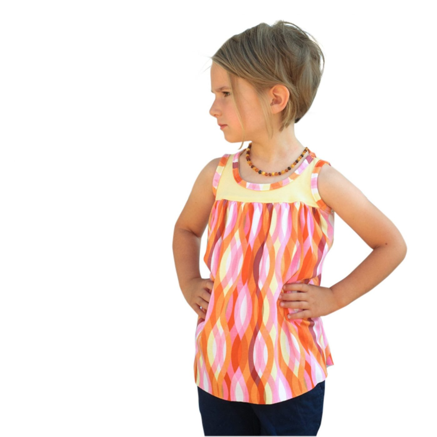 The jIsje Top PDF Sewing Pattern