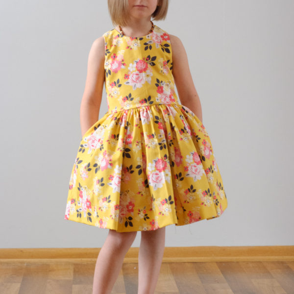 The Latona Dress Sewing Pattern