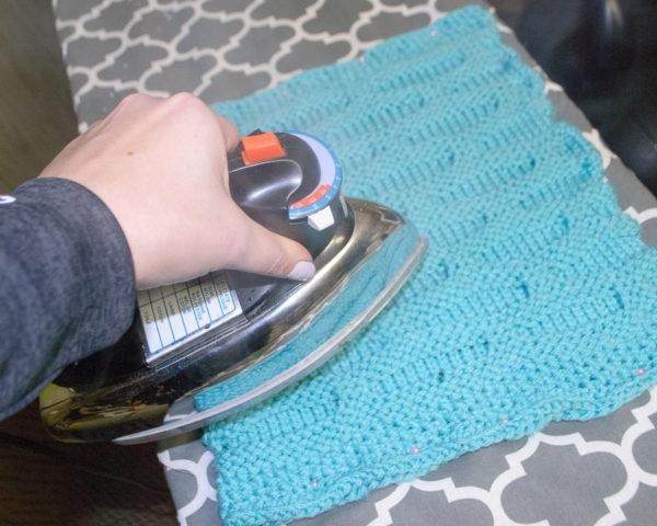 Blocking Acrylic Yarn