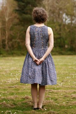 sleeveless party dress sewing pattern