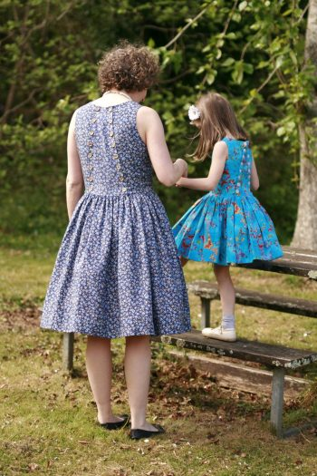 sleeveless party dress sewing pattern