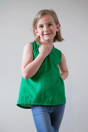 The Bloem Top Sewing Pattern
