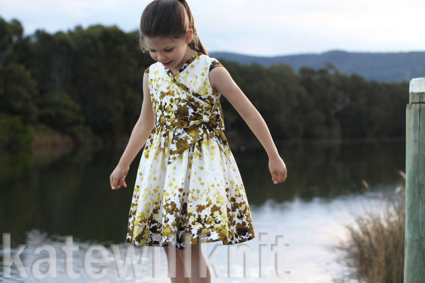 The Rivier Dress Sewing Pattern