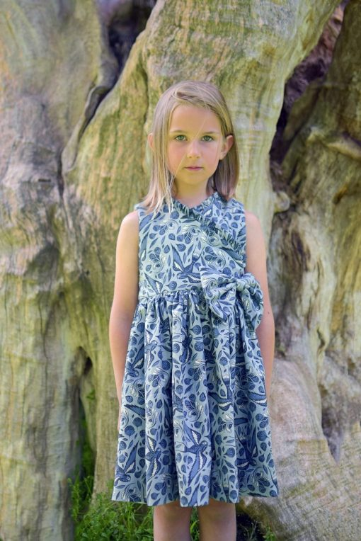 wrap dress sewing pattern