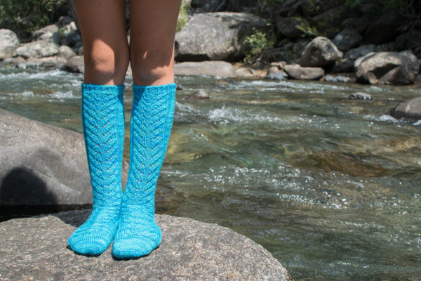 knee high sock knitting pattern