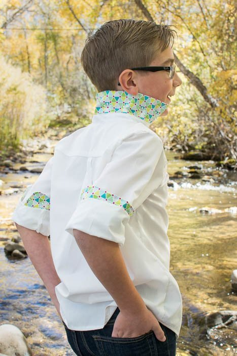 dress shirt sewing pattern