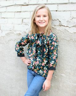 bow blouse sewing pattern