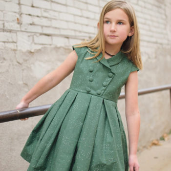 The Admiraal girl dress sewing pattern