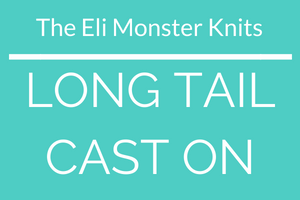 Long Tail Cast On Video Tutorial