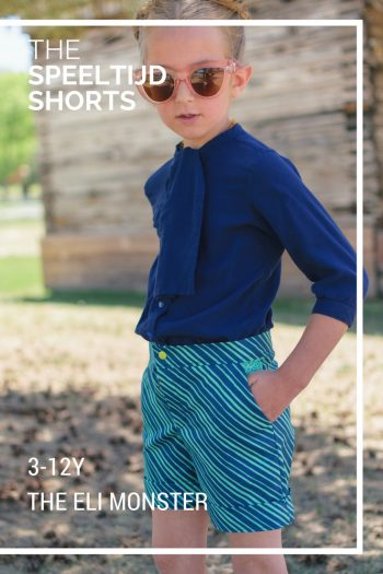 The Speeltijd Shorts Sewing Pattern