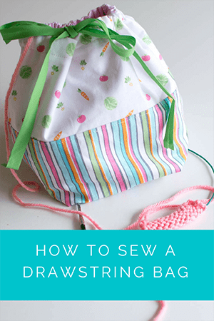 Drawstring Bag Video Tutorial