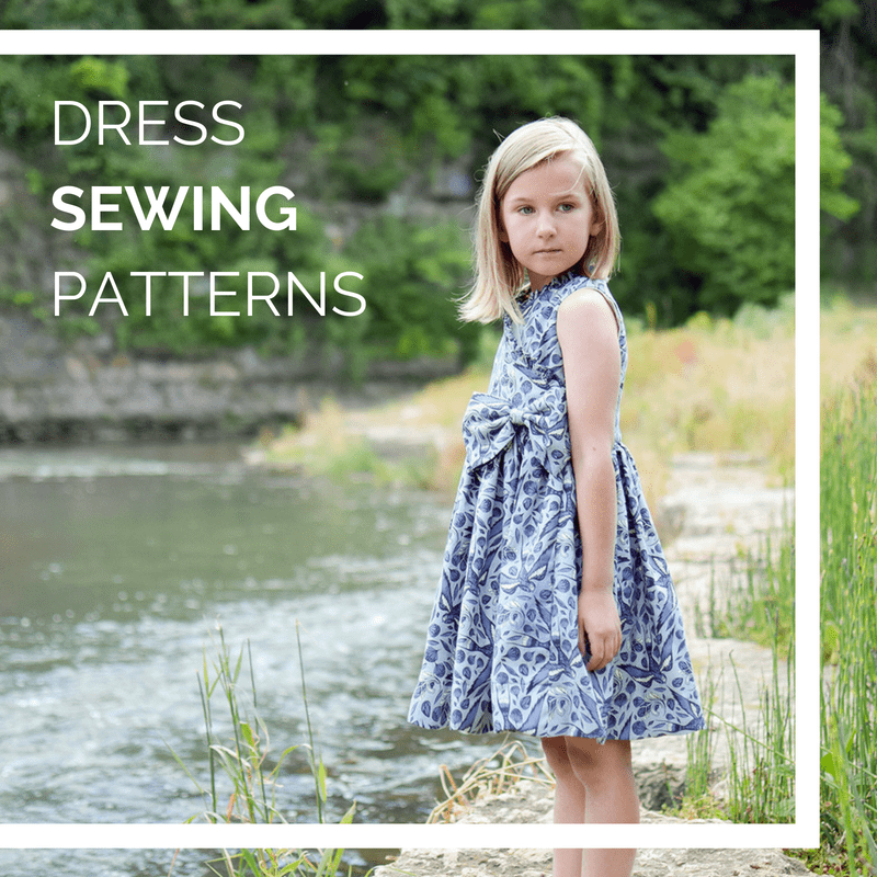 pdf sewing patterns for dresses for children and women