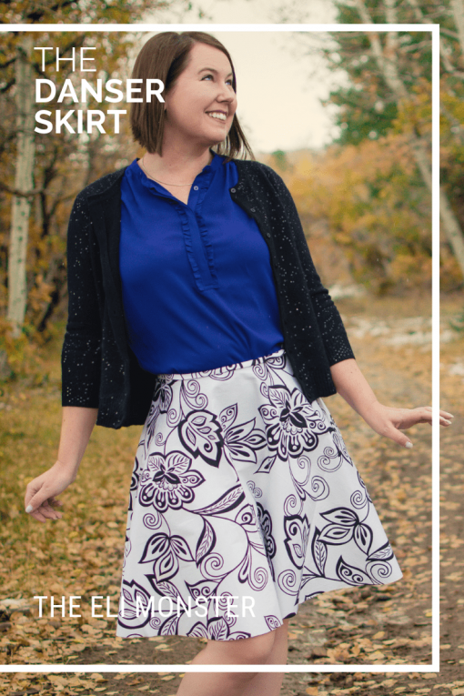 Cover Image for the Danser Skirt Sewing Pattern