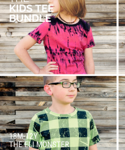 The Tee Bundle Sewing Pattern Set