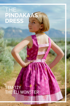 The Pindakaas Sundress Sewing Pattern Cover