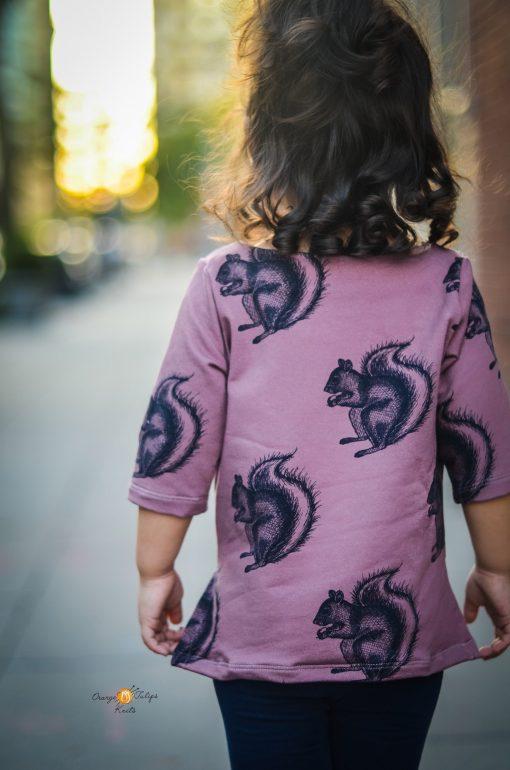 The Kids Maritiem Top Boatneck sewing pattern