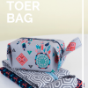 The Toer toiletry bag sewing pattern